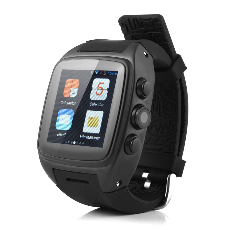 Hot sale! 3G Bluetooth Smart Watch Android 4.4.2 Dualcore Pedometer HeartRate Monitor GPS Waterproof  5.0MP Camera Support SIM smart watch dm88 bluetooth heartrate monitor writswatch romote camera touch screen leather bracelet watch for ios android phones