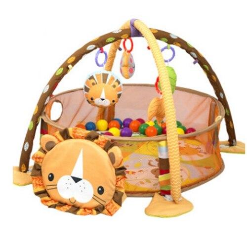 70 cm 3 in1 bébé tapis de jeu 0-24 mois bébé jouet jeu garçons filles tapis rampant éducatif jouer Gym enfants tapis jouets - 3