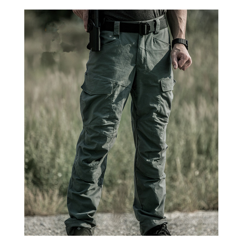 Outdoor Hunting Riding Climbing Tactical Pants With Knee Pad Men s Spring Autumn Training Military Slim