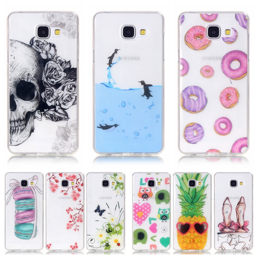 sale retailer 34f7d 4080e Soft TPU Silicone case sFor Samsung Galaxy A5 2016 A510 A510F case ...