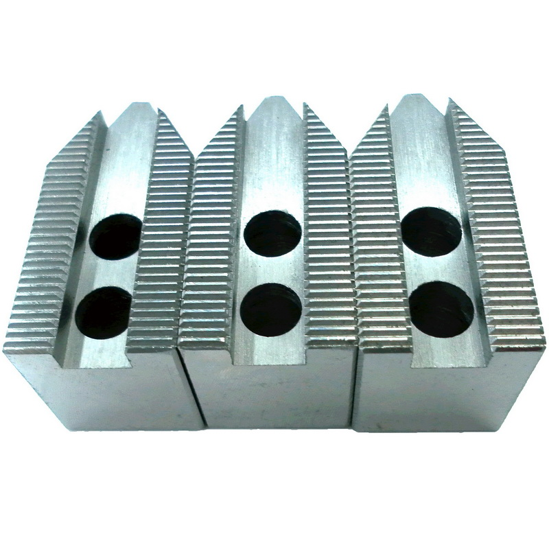 MOSASK 120 Degree 5 8 10 12 Inch Standard Hollow Soft Jaw For CNC Lathe Boring Cutting Tool Machining