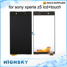 For Sony Z5 LCD Xperia Z5 Display E6653 E6603 E6633 With Touch Screen Digitizer No Dead Pixels No Spots 1 Piece Free Shipping
