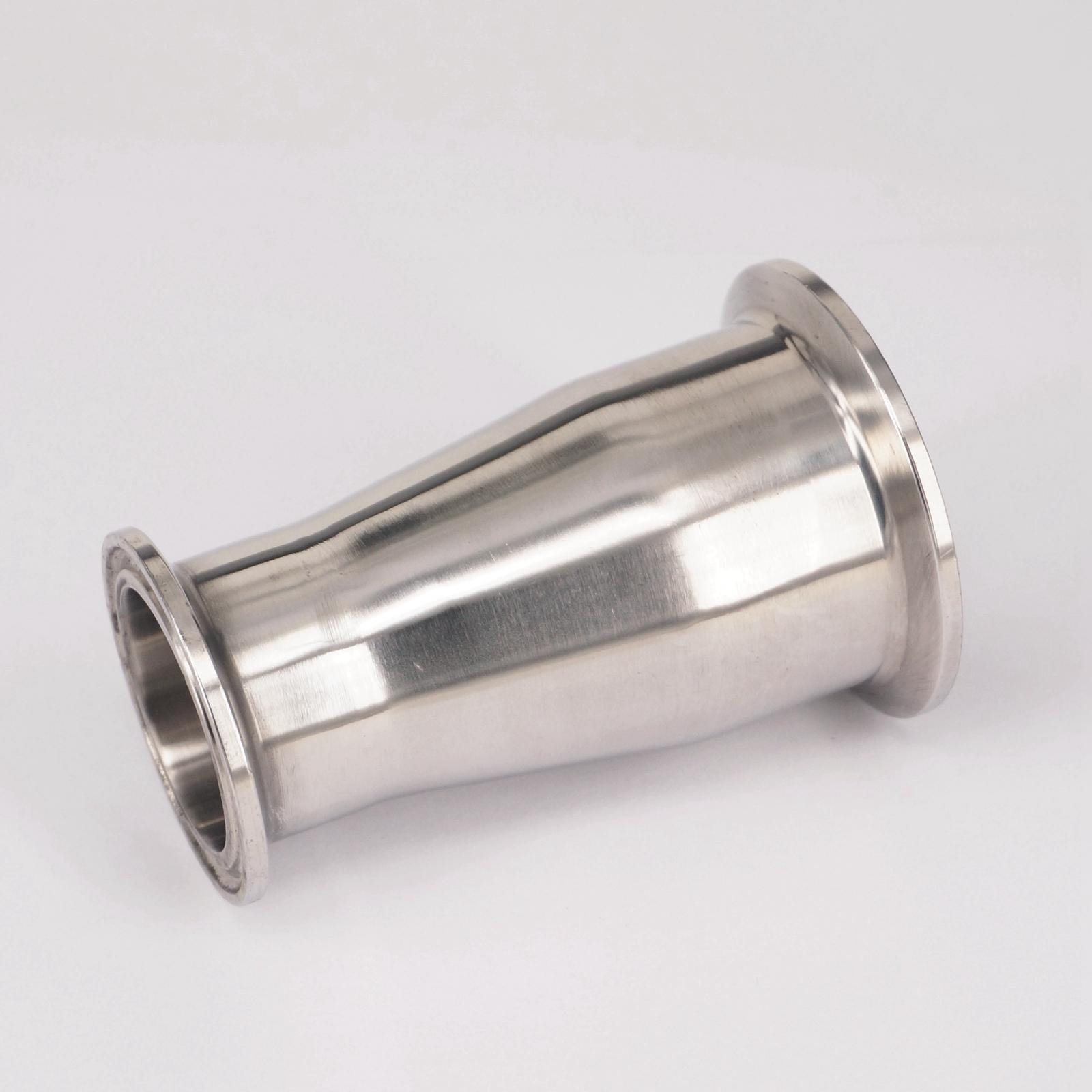 2 Tri Clamp Turn to 1.5 Tri Clamp Reducer 304 Stainless Steel Sanitary Pipe Fitting Connector For Homebrew 1 2 bsp male x 1 5 tri clamp 304 stainless steel pipe fitting connector for homebrew with hex nut
