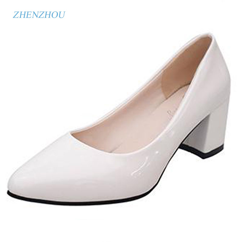 zhen zhou 2017 spring and autumn women's new fashion trend leadership Work shoes comfort women's shoes exemption from postage zhen zhou 2017 spring and autumn women s new fashion trend leadership the increased martin boots exemption from postage