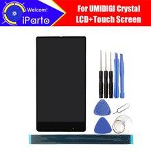 5.5 polegada umidigi cristal display lcd + tela de toque digitador assembléia 100% testado lcd digitador toque para umi cristal ferramentas