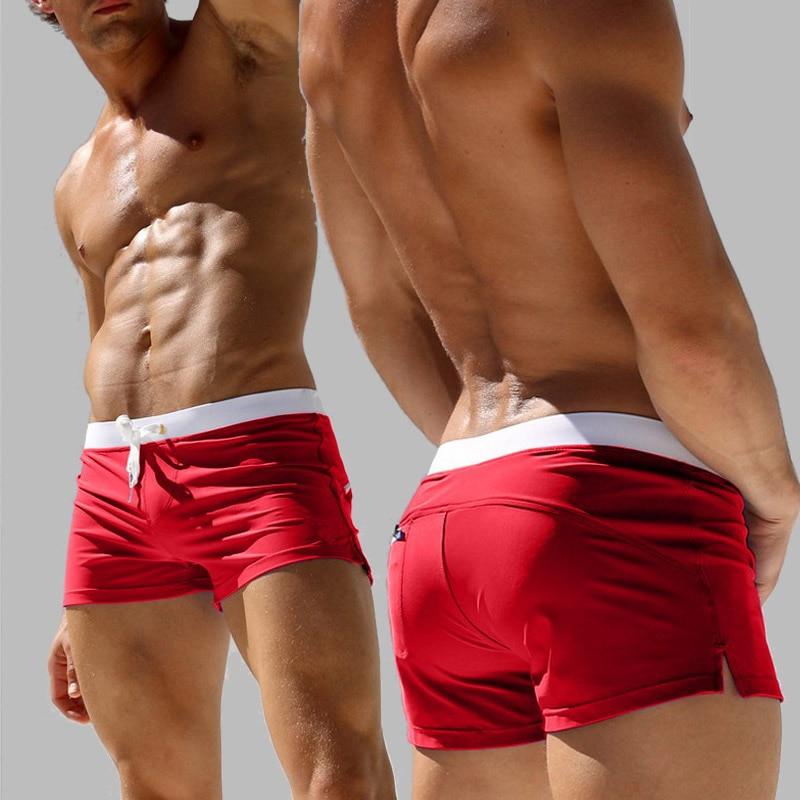 AUSTINBEM Uued meeste lühikesed püksid Meeste püksid Ujumispüksid liikumispüksid Surfamine seljatasku tõmblukk liivaga ranna lühikesed püksid 223
