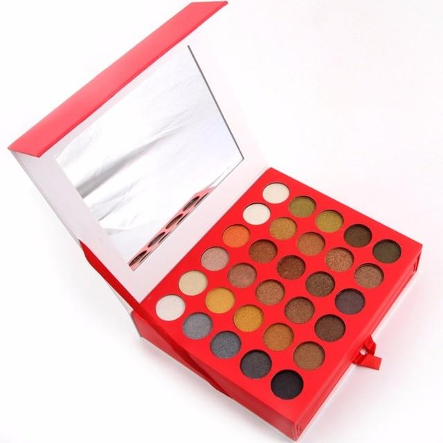 Miss rose maquillaje mate a prueba de agua de 60 colores de sombra de ojos 4 colores en polvo ceja paleta de 3 colores colorete cosméticos set kit #231017