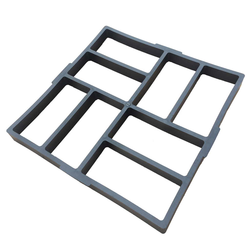 Paving Mould Path Pathway Patio Pavers Garden Stones Shaper Template 40cm