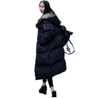 ALI TOPTINA JACKET WOMAN Jacket Cotton padded Overknee Down Cotton Woman Thickening Loose 2018 Winter Coat High Quality Parka