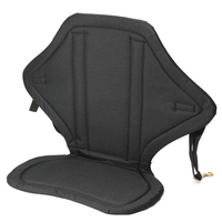 Kayak Canoe Adjustable Backrest Seat Inflatable Boat Seat Storage Backpack Cushion PVC Fishing Marine Rowing Boat Accessories