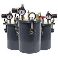 Новый 1L 20L углерода Сталь Давление горшок клея машина, диспенсер w/Air Давление прибор для клеев краски медикаменты хранения