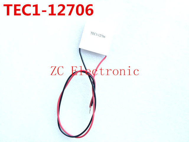 Free shipping 5PCS/LOT TEC1 12706 12V 6A TEC Thermoelectric Cooler Peltier tec1-12706