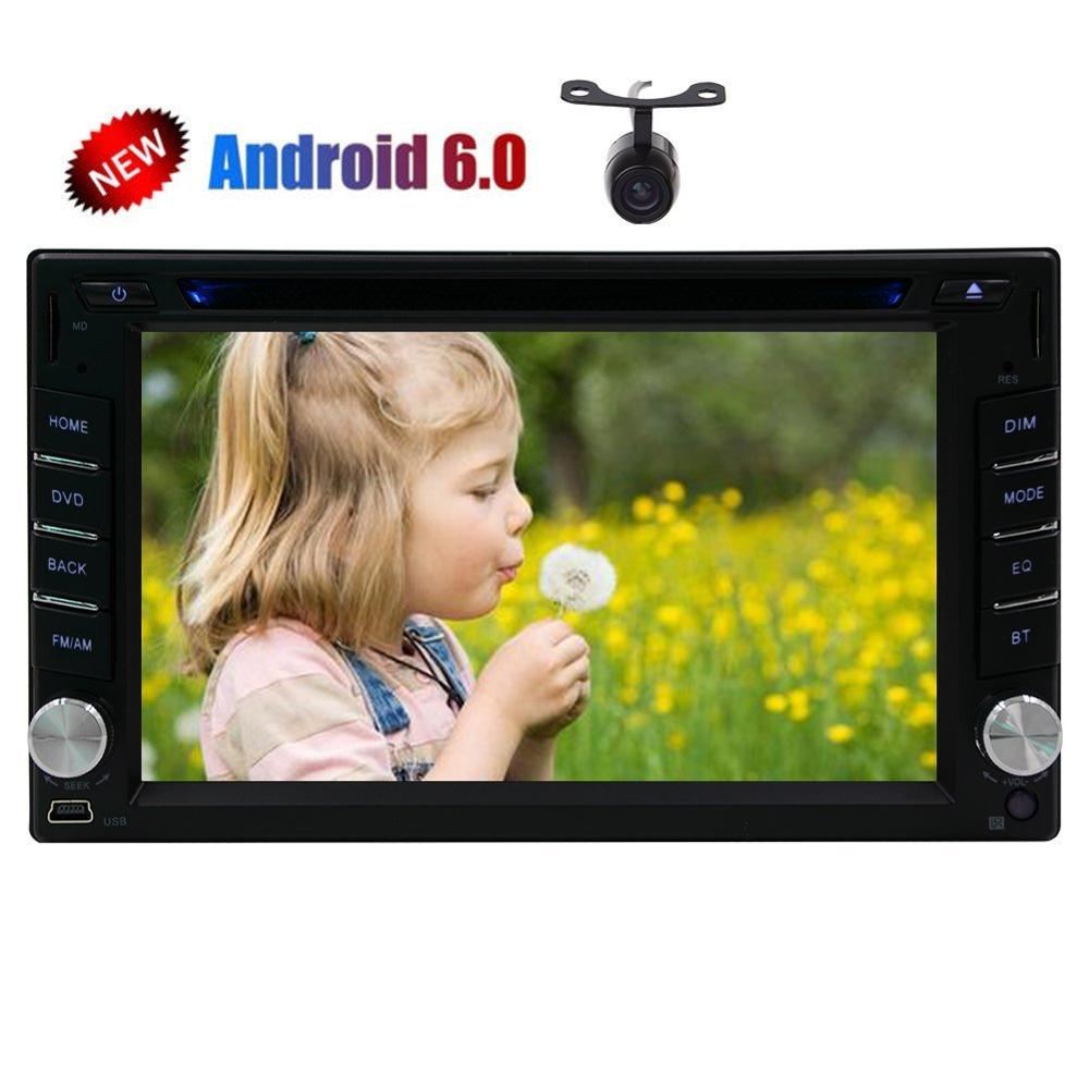 Android 6 0 2Din Car gps Stereo DVD Player for Double 2din Auto Audios Support GPS