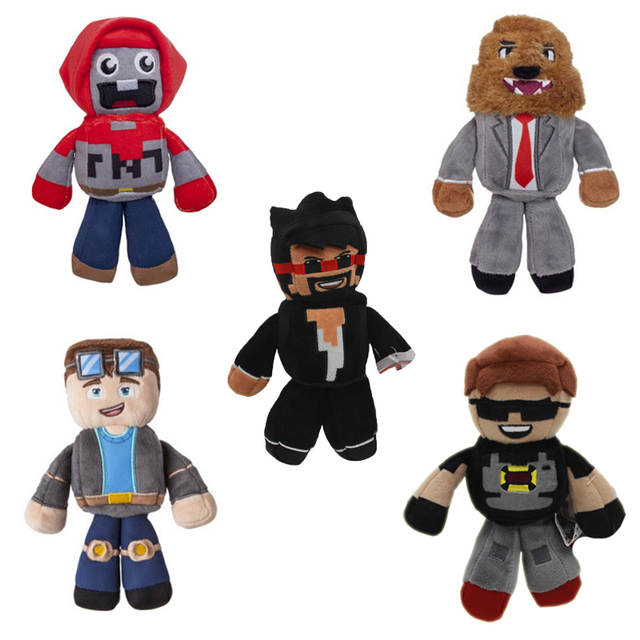 US $5 98 |Game Tube Heroes Plush Toy DanTDM Captain Sparklez Sky Exploding  Jeromeast Stuffed Doll Gifts For Kids-in Movies & TV from Toys & Hobbies on