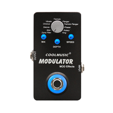 Coolmusic цифровая модуляция гитарная педаль