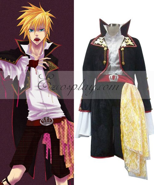 Vocaloid Sandplay Chant de La Dragon Len Cosplay Costume E001