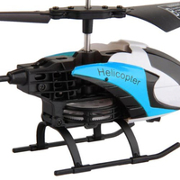 ABWE Best Sale S126 RC Helicopter IR Remote Control 10m 2 Channels Blue