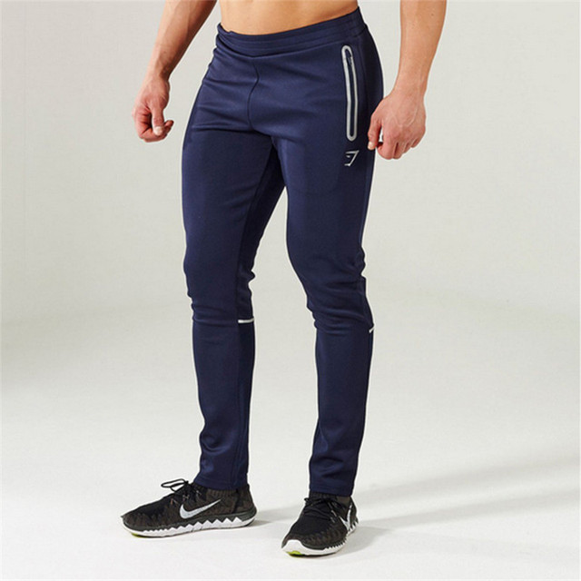 Gymshark Pants Men's  Pants Cotton Fitness Slim Joggers Sweat Pants Pantalones Chandal Hombre Casual Pants