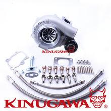 Kinugawa Ball Bearing Turbocharger 4 Anti-Surge GTX3076R AR.64 T25 5 Bolt for Nissan SR20DET Silvia S14 S15 kinugawa turbo oil and water line kit for nissan s14 s15 sr20det w rb25det t3 turbocharger top mount