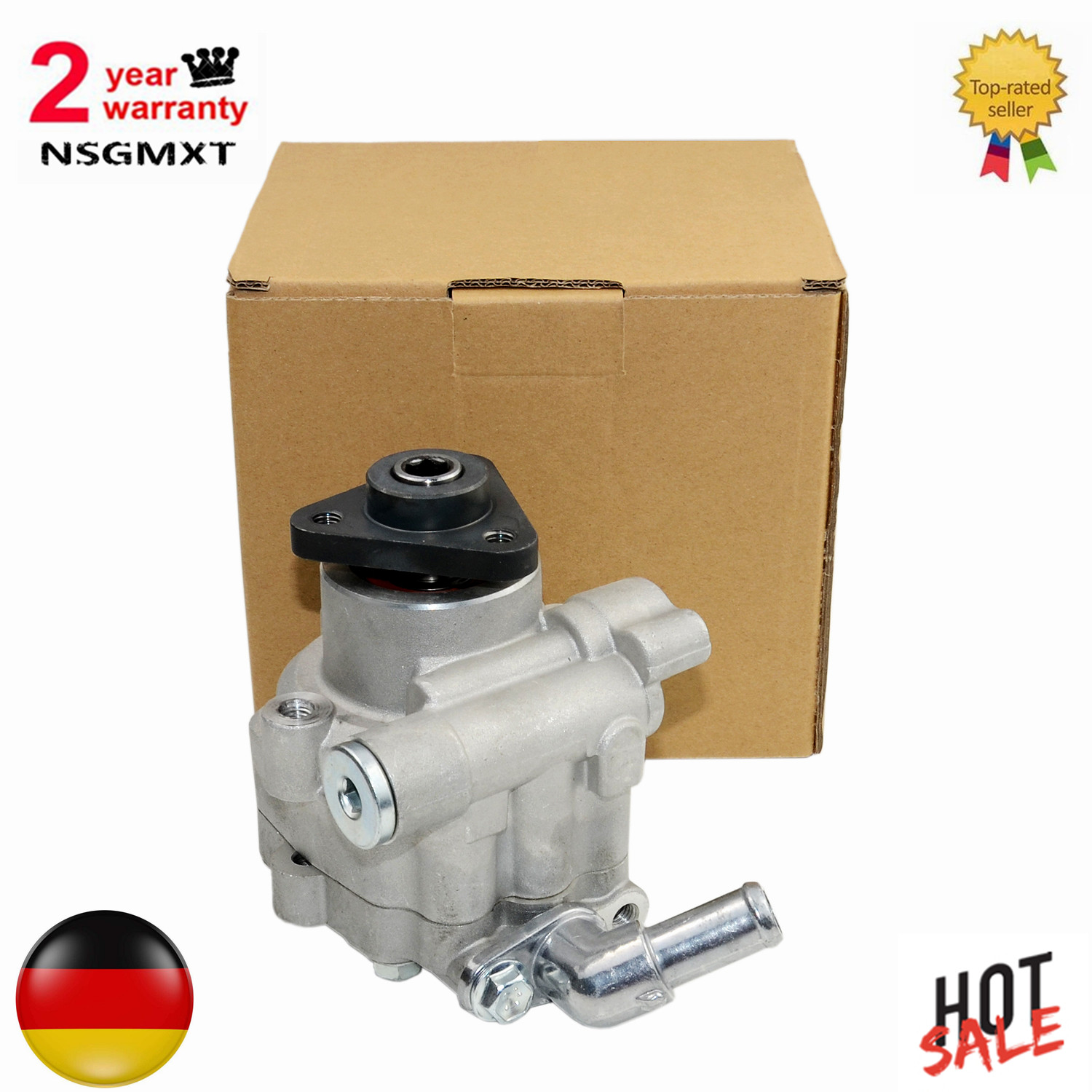AP01 Power Steering Pump For  VW Amarok Crafter 30 35 Bus Multivan V  Transporter V Bus 7HM 7HN 7HF 7EF 7EM 7EN 1.9 TDI|  - title=