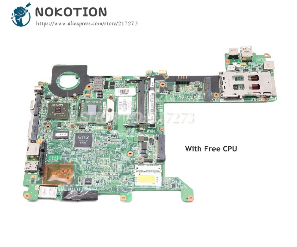 NOKOTION 463649-001 For HP Pavilion TX2000 Laptop Motherboard Socket S1 Update graphics DDR2 Free cpu