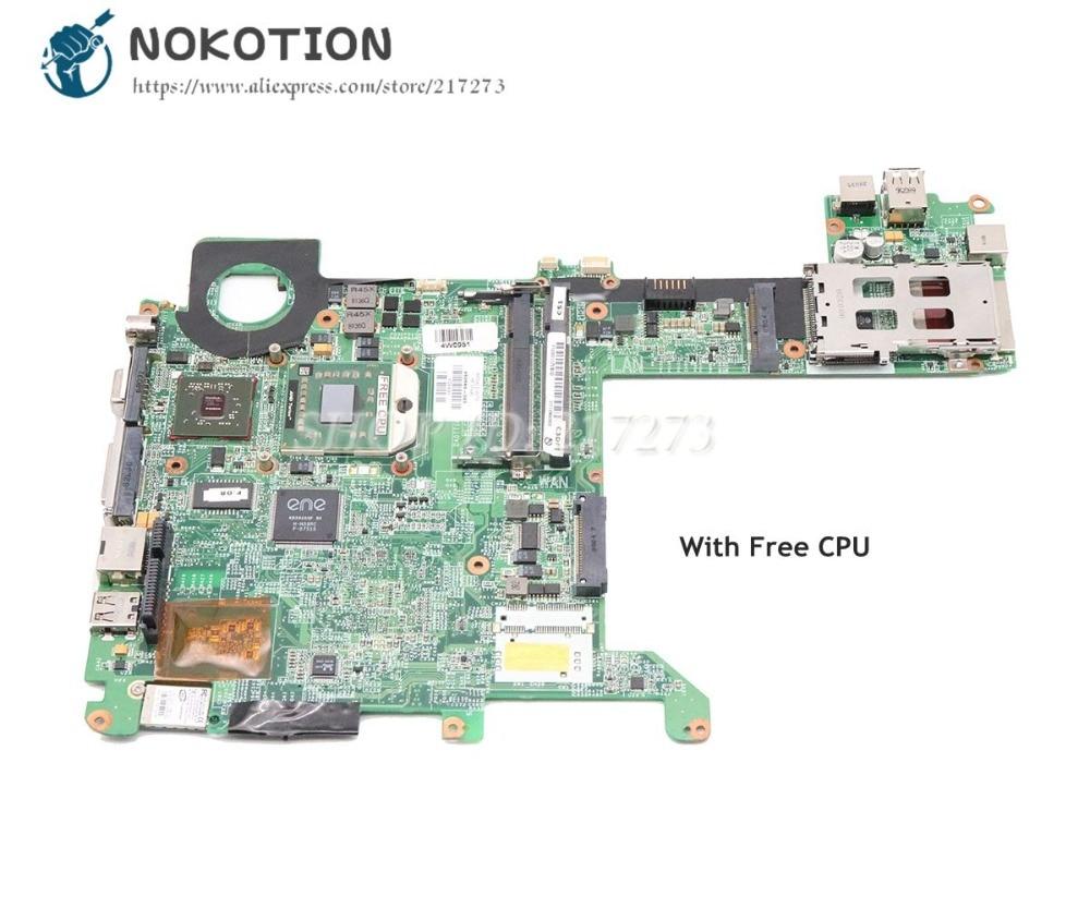 NOKOTION 463649-001 For HP Pavilion TX2000 Laptop Motherboard Socket S1 Update Graphics DDR2 Free Cpu