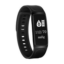 C7S Водонепроницаемый Смарт Браслет Фитнес Tracker 0.96 »OLED Сенсорный экран Presión arterial Samrt сердечного ритма Monitores