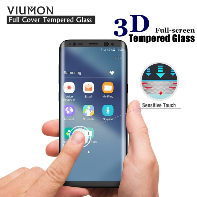 New Arrival 3d Curved Tempered Glass For Samsung S8 Plus Smart Phone