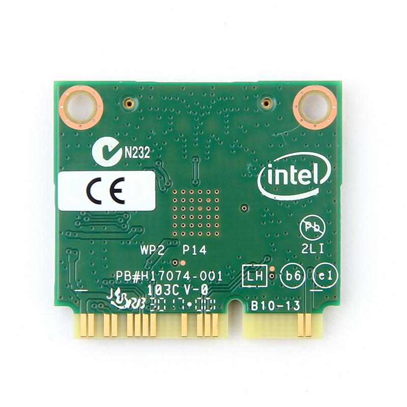 Dual Band Wireless Card For Intel 7260 7260HMW ac Mini PCI-E 2.4G/5Ghz Wlan Wifi Bluetooth 4.0 802.11ac/a/b/g/n With Antenna 2