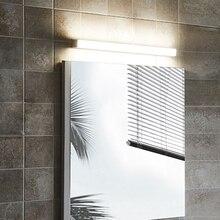 Светодиодный зеркальный светильник для ванной комнаты домашний Декор настенный светильник водостойкий Бра 110 В 220 В спальня макияж столы туалетный свет лампы