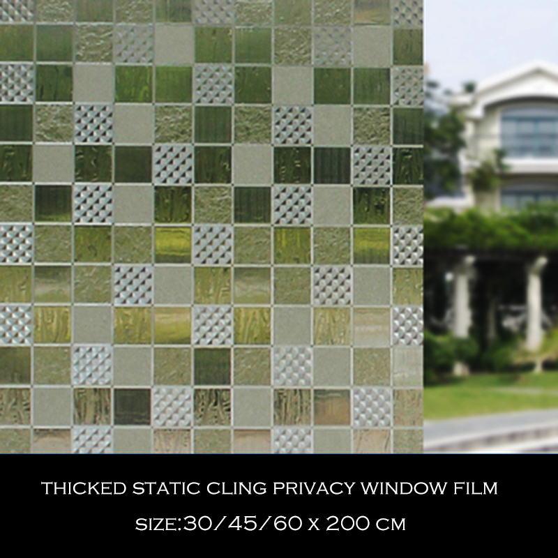 Back To Search Resultshome & Garden Home Decor 3d Static Window Film,cling/privacy Protection/heat Control/anti Uv Stained Glass Film No-glue For Home 17.7x78.7 Inch Square