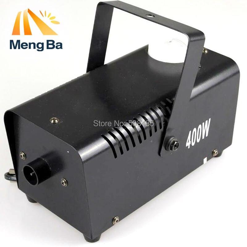 Hot sale mini 400W Wire control fog machine pump dj disco smoke machine weedding party stage Lamp black machine dj control