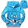 TM-P7, 6pcs/lot, Children boys hoodies, long sleeve cartoon pullover sweatshirts, Planes
