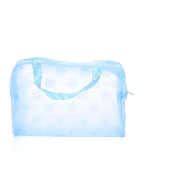 3pcs trasparente bagno impermeabile borsa da bagno bagno wc sacchetto - Organizzazione e deposito in casa - Fotografia 4