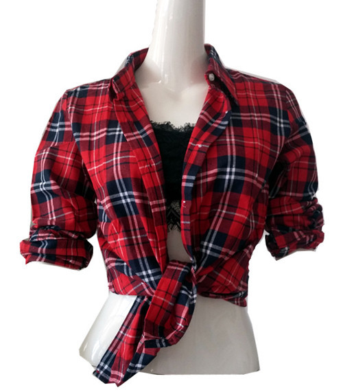 Red Flannel Womens Shirt Photo Album - Fashion Trends and Models