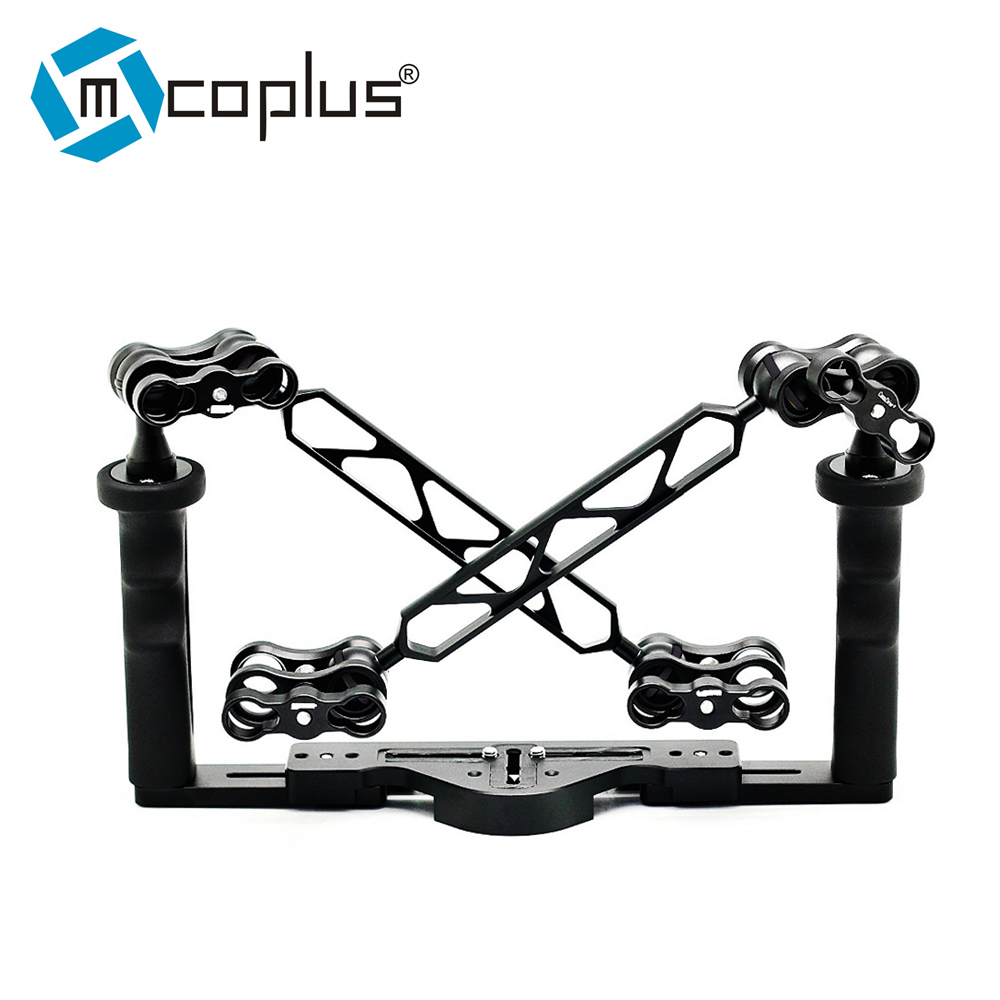 Mcoplus Underwater Tray Housings Arm kit for Gopro Action Camera Camera Waterproof Housing Video Dive Torch