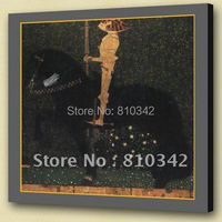 Wholesale modern art famous oil painting of Gustav Klimt for house