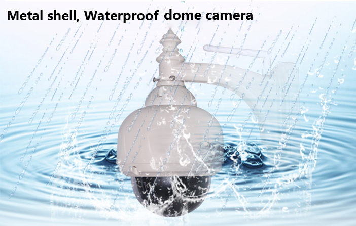 WANSCAM Plug Play Wireless WiFi Pan/Tilt Rotate IR Cut Motion Detection Outdoor Waterproof Dome Network Internet IP Camera hot sale 720p hd ip camera wireless pan tilt robot network camera p2p plug play motion detection video push alarm sk 290