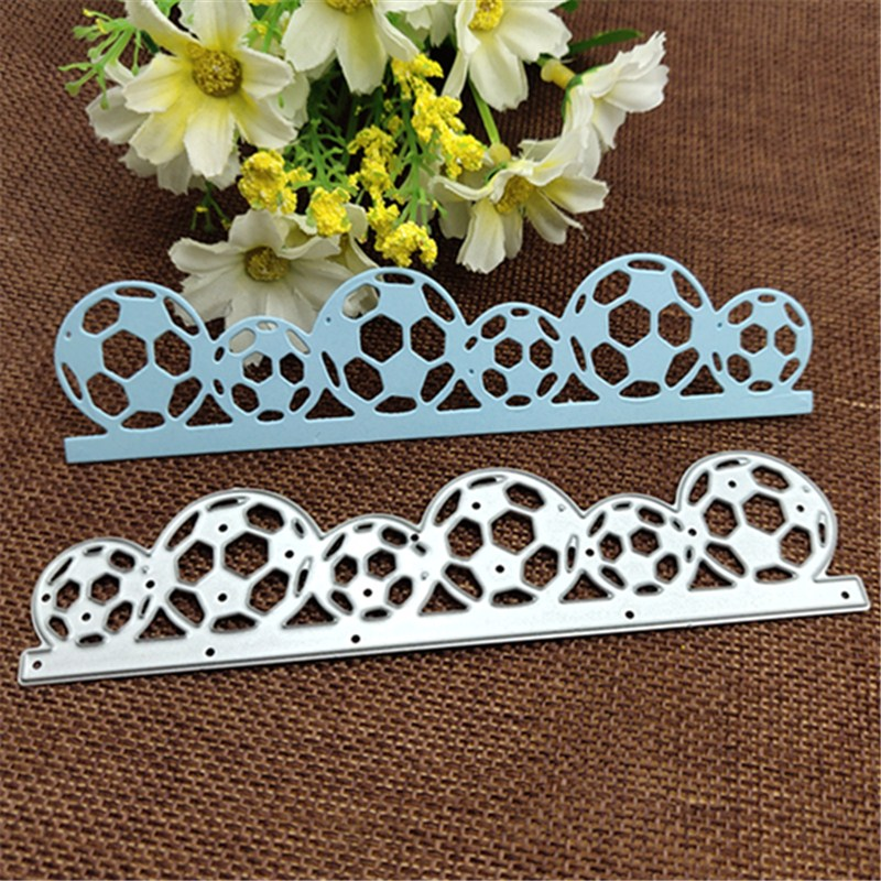 Football Border Metal Cutting Dies Stencils For DIY Scrapbooking/photo Album Decorative Embossing DIY Paper Cards