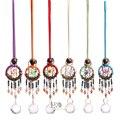 H & D 6 видов цветов Ловец снов с подвеской в виде шар-призма  ручной работы  Радужный чайник  Хрустальный Ловец снов  украшение для домашнего о...