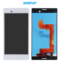"5"" Black White For Sony Xperia M4 Aqua E2303 E2353 E2333 LCD Screen Display & Digitizer Full Assembly Replacement Repair Part"