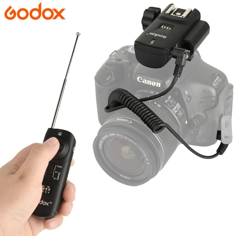GODOX REEMIX RM II-C1/C3/N1/N3 Photo Studio Shutter Release Wireless Shutter Flash Strobe Trigger For Nikon Canon Camera