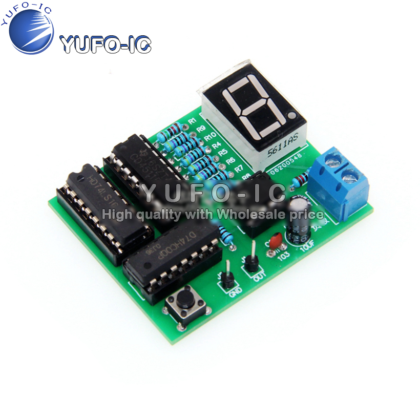 Decimal Counter Suite simple Electronic product circuit teaching test electronic production DIY bulk