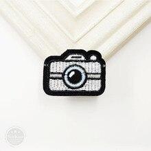 Размер камеры: 3,0x4,2 см нашивки значки железные на вышивке патч значки аппликации Одежда Швейные принадлежности Декоративные