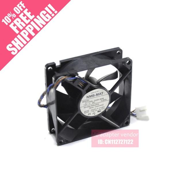 NMB 8025 12V 0.65A 3110RL 04W B86 4 wire PWM fan thermostat-in Fans ...
