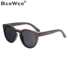 f4c7d276d0 BerWer 2019 nuevo producto de madera gafas de sol de las mujeres/los  hombres de bambú gafas de sol de madera bambú gafas marco c.