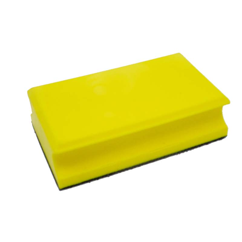 71x120mm Foam Hand Sanding Block Hand Pad For Hook And Loop Disc