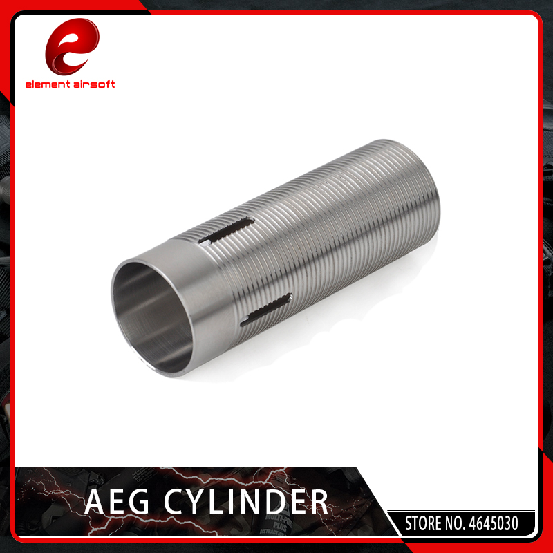 Element Stainless Steel Cylinder For AEG Airsoft M4 AK Gel Ball Gearbox GB05005