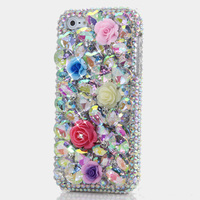 Women Flower Rhinestone Diamond Case For Letv LeEco Le 2 X520 X620 Le2 Pro X25 X20