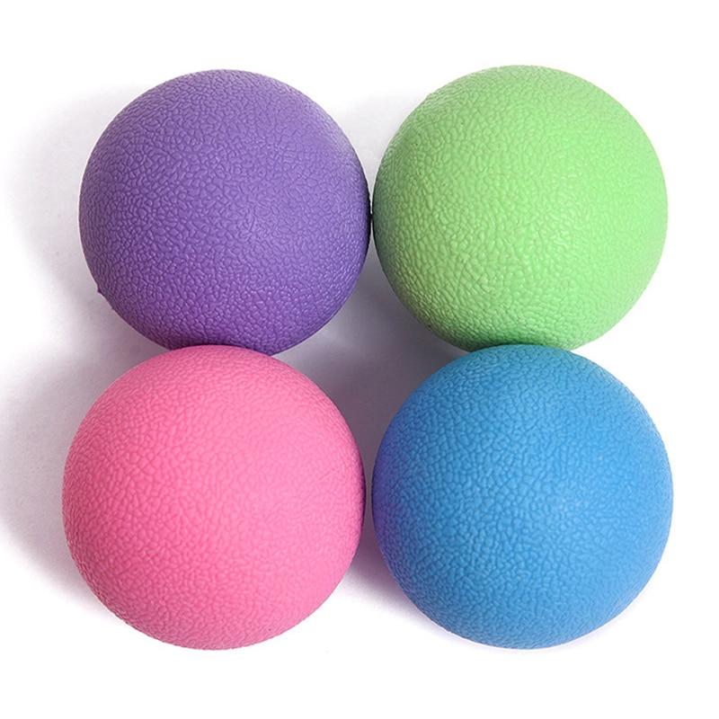 <+>  TPE Lacrosse Ball Mobility Миофасциальная триггерная точка Освобождение Массаж тела Йога Мячи ①